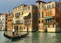 Gondolier Royalty Free Stock Photo