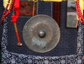 Gong the old beijing objects Royalty Free Stock Image