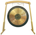 Gong traditional oriental isolated on white background Stock Photo