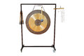 Gong under the white background Stock Photo