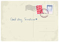 'Good Day, Sunshine' postcard Royalty Free Stock Photo