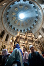 Good Friday at the Church of the Holy Sepulchre Stock Photography