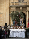 Good Friday Procession Royalty Free Stock Image