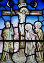 Good Friday in stained glass (Jesus Christ crucified)