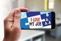 Good Job Assistant I LOVE MY JOB , I Love My Job on Note , Bu