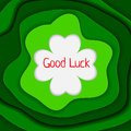 Good Luck Background Vector Illustration