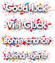 Good luck paper backgrounds.