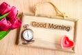 Good morning. Royalty Free Stock Photo