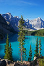 Good Morning Moraine Lake Stock Photography