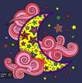 Good night and dreams Royalty Free Stock Photo