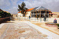 Good samaritan church israel jericho isr dec visitors in the on dec it s located on the main highway between jerusalem and jericho Stock Image