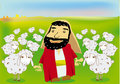 A good shepherd Royalty Free Stock Photo