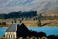 Good Shepherd Church - Lake Tekapo - New Zealand Royalty Free Stock Photo
