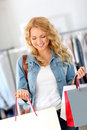 Good shopping day Royalty Free Stock Photo