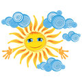 Good sun Royalty Free Stock Photo