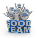 Good Team - People With Teamwo...