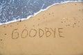 Goodbye Royalty Free Stock Photo