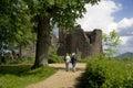 Goodrich castle Stock Images