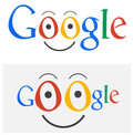 Google logo cartoon