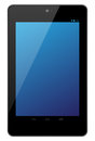 Google Nexus 7 tablet Royalty Free Stock Image