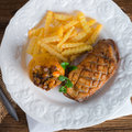 Goose breast fillet a fresh and tasty Royalty Free Stock Image