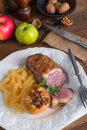 Goose breast fillet a fresh and tasty Stock Photos