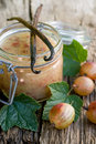 Gooseberry jam Royalty Free Stock Photography