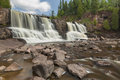 Gooseberry Middle Falls Royalty Free Stock Photo