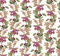 Beautiful seamless pattern with Gooseberry ornament.