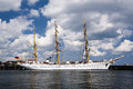 Gorch fock Royaltyfria Bilder