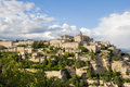 Gordes one of the most beautiful and most visited french villag villages Royalty Free Stock Photography