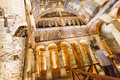 Goreme cappadocia frescoes inside a church at the exotic geography of turkey Stock Images
