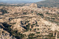 Goreme fomations turkey the fantastic dunes with minaret like formations in cappadocia Royalty Free Stock Image