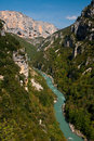 Gorge du Verdon in France Stock Photography