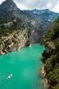 Gorge du verdon in Provence Royalty Free Stock Photo