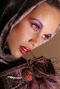 Gorgeous black woman Stock Photos