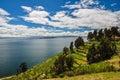 Gorgeous landscape of isla del sol bolivia Stock Photography