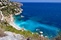 Gorgeous mediterranean coast in summer Royalty Free Stock Photo