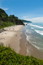 Gorgeous oregon beach a long on the coast Stock Photo