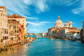 Gorgeous view of the Grand Canal in Venice Royalty Free Stock Photo