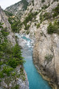Gorges de guil canyon in haute alpes provence alpes cote d azur france at summer Stock Photos
