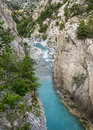 Gorges de guil canyon in haute alpes provence alpes cote d azur france at summer Royalty Free Stock Photography