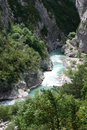 Gorges du Verdon Royalty Free Stock Photography