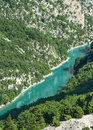 Gorges du verdon Photographie stock