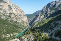 Gorges du verdon Stockbild