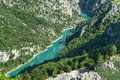 Gorges du verdon alpes de haute provence provence alpes cote d azur france famous canyon Stock Photos