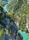 Gorges du verdon alpes de haute provence provence alpes cote d azur france famous canyon Royalty Free Stock Photography
