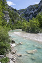 Gorges du verdon les provence france Stock Photo