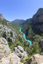 Gorges du verdon provence in france europe Stock Images