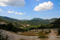 Gorges du verdon view into canyon haute provence france Stock Photo
